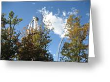 Kings Dominion - Hypersonic Xlc - 12121 Greeting Card by DC Photographer