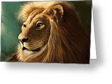 King's Glory Greeting Card