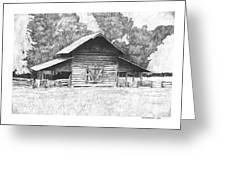 King's Mountain Barn Greeting Card
