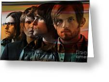 Kings Of Leon Greeting Card