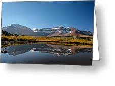 Kings Peak And The Pond Greeting Card