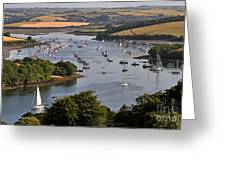 Kingsbridge Estuary Devon Greeting Card
