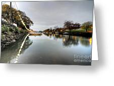 Kingsbridge Reflections  Greeting Card
