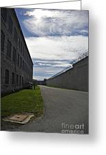 Kingston Penitentiary View To The Sallyport Greeting Card