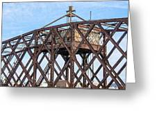 Kinnickinnic River Swing Bridge  4 Greeting Card