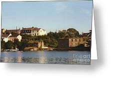 Kinsale Waterfront Greeting Card