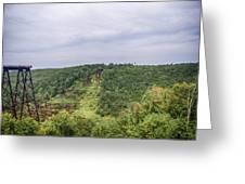 Kinzua Viaduct 6916 Greeting Card