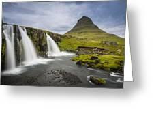 Kirkjufellsfoss Greeting Card