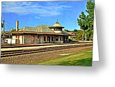 Kirkwood Station Greeting Card by Marty Koch