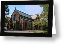 Kirkpatrick Chapel Greeting Card
