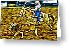 Kissimmee Roper Greeting Card
