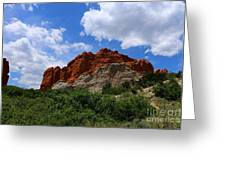 Kissing Camels - Garden Of The Gods Greeting Card