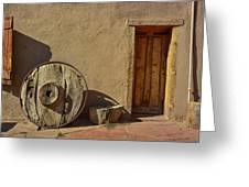 Kit Carson Home Taos New Mexico Greeting Card