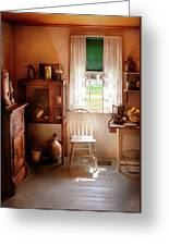 Kitchen - A Cottage Kitchen  Greeting Card