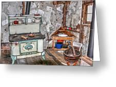 Kitchen Intime Greeting Card