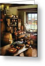 Kitchen - Nothing Like Home Cooking Greeting Card