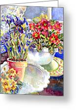 Kitchen Primrose Greeting Card
