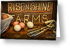 Kitchen  Rise And Shine Greeting Card