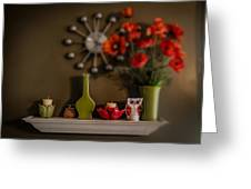 Kitchen Shelf  Greeting Card