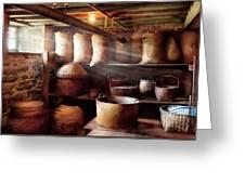 Kitchen - Storage - The Grain Cellar  Greeting Card