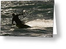 Kite Surfer 03 Greeting Card