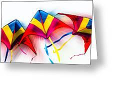 Kites Greeting Card