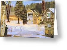 Kittattiny Park Ranger Residence Greeting Card