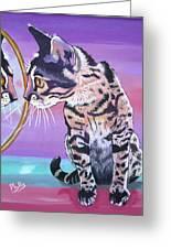 Kitten Image Greeting Card