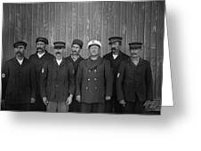 Kitty Hawk Crew, 1900 Greeting Card
