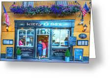 Kitty's In Kinsale Ireland Greeting Card