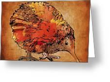 Kiwi Bird Greeting Card