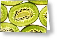 Kiwi Fruit IIi Greeting Card