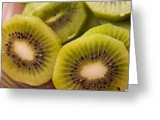 Kiwi For Lunch Greeting Card