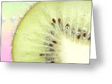 Kiwi Splash Greeting Card
