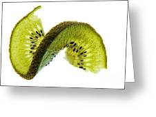 Kiwi With A Twist Greeting Card