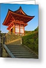 Kiyomizudera Temple Greeting Card