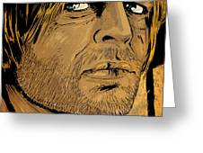 Klaus Kinski Greeting Card