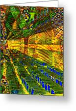 Klimt Covetous Greeting Card