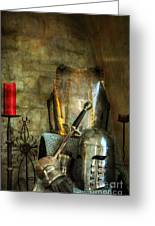 Knight - A Warriors Tribute  Greeting Card by Paul Ward