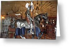 Knight Greeting Card