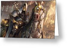 Knight Of Obligation Greeting Card
