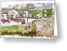 Knitsley Mill 5 Greeting Card