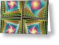 Knitting Greeting Card by Anastasiya Malakhova