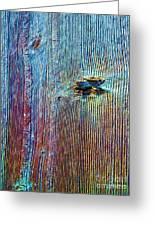 Knotty Plank #1b Greeting Card