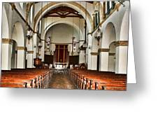 Knowles Memorial Chapel Rollins College 2 By Diana Sainz Greeting Card