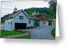 Knox Quarters Stable Greeting Card
