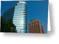 Knoxville Buildings Greeting Card