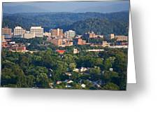Knoxville Skyline In Summer Greeting Card