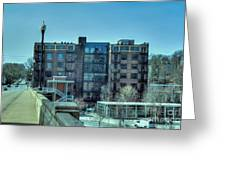 Knoxville Upscale Apartment Building Greeting Card