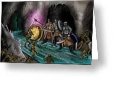 Kobold Entry Cavern Greeting Card